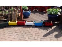 train set planters