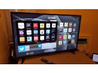 LUXOR 49-inch SUPER Smart 4K UHD LED TV,built in Wifi,Freeview & Freesat HD,fully working