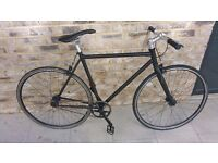 Lightweight and fast black single speed in good conditions only 115£!!!