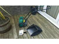 Cordless cylinder lawn mower 2 month