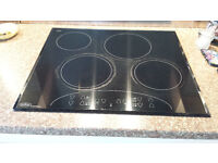 Belling Touchtronic 4 ring ceramic hob - black
