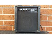 Guitar small bass amp in good used condition working order!Can deliver or post