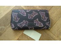 Radley New and Genuine Kenwood Purple and Pink Oilcloth Purses Large £15 Medium £12