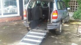 Zafira Chairman (Diesel) Excellent Condition, Wheelchair facility, Bargain at £1,200