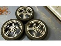 Audi vw rs alloy wheels 18 inch