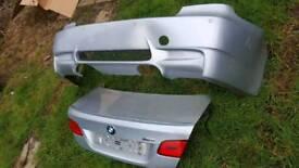 BMW 3 SERIES - M3 - REAR BUMPER & TAILGATE/ BOOTLID & LIGHTS - E92/E93-