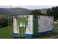 20ft metal storage container/office for sale - £1,600