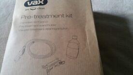 Vax pre treatment kit for vax carper shampooer. Bargain