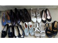 10 pairs of assorted shoes a