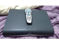 Sky HD TV box with remote control used for sale
