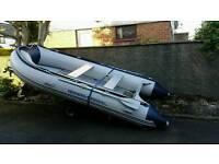 Rib boat for sale 380