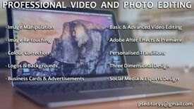 Professional Video and Photo Editing