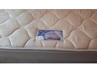 King size divan bed with 4 drawers and silent night micracoil 3 mini pocket springs matress