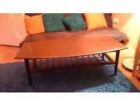 Beautiful dark wood living room table