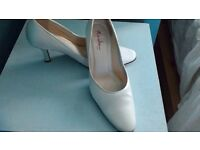 Size 7 Rainbow Club wedding shoes 'Phoebe'