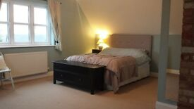 Extra Large Room - King size bed with a spacious En-suite shower room; Additional own sitting room