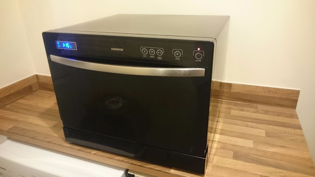 Kenwood Table Top Compact Dishwasher Kdwttb10 Excellent Condition
