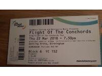 Flight of the concords tickets Birmingham
