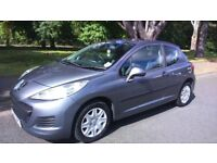 2010 PEUGEOT 207 1.4 PETROL 8 MONTH MOT GREY 3 DOOR 74650 MILE, EXCELLENT CONDITION LIKE BRAND NEW