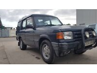 1995 Land Rover Discovery 2.5 TDi manual 5 doors MOT 15 02 2019 mileage 168600 Tow bar