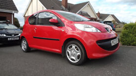 Peugeot 107 Urban, £20 per year tax, only group 3 insurance,