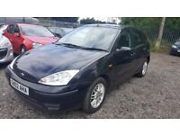 Ford Focus 1.8 i 16v LX 5dr (sun roof), GOOD CONDITION, WARRANTED MILEAGE, WELL MAINTAINED