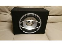 CAR SUBWOOFER ROCKFORD FOSGATE PUNCH HE2 RFP4212 12 INCH 400 WATT RMS WITH ENCLOSURE BASS BOX SUB