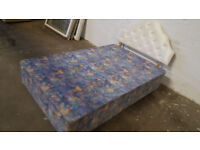 small double bed {no mattress}