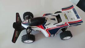 Vintage Retro Tamiya Thunder Shot Quick Drive RC Car - Radio Controlled Car 1988