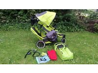 Lovely Phil & Teds Navigator double buggy same as E3
