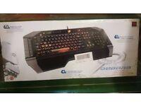 C.Y.B.O.R.G v7 Gaming keyboard mint condition