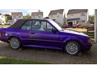 Ford Escort XR3i Cabriolet 1986 Purple