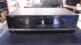 ARISTON WX510 TWIN CASSETTE DECK