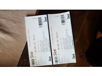 2 x ticketx for John Power (from Cast)