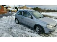 Vauxhall corsa design 2004 cdti diesel *full years mot* (not astra clio picanto fiesta punto swift)