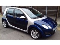 Smart Forfour 1.3 Passion 5dr- GURANTEED MILEAGE- 3 MONTHS WARRANTY- 1YR NEW MOT- NEW STOCK
