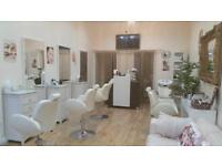 Barber chair Salon beauty spa styling hairdressing