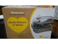 Rosewood hamster / mouse tank. Brand new. Cost £30