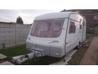 swift corniche 4 birth caravan nice condition