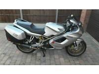 Ducati ST2 ( VFR800 touring bike 916 px swap)