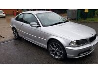 52 REG BMW 318 COUPE WITH BRAND NEW ALLOYWHEELS