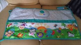 **PRICE REDUCTION** Lullaby Music and Lights Cot Bumper