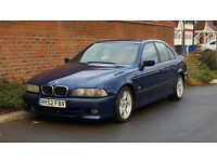 Bmw 525d M Sport Auto (2002/52) + RARE AVUS BLUE EDITION + Special Factory Order + (E39) +