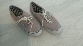 ladies VANS trainers/shoes
