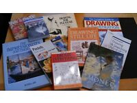 Set of ten art books