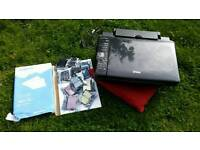 Used Epson Stylus SX425W printer/scanner, with set of 11 ink cartridges and A4 white paper
