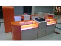 Shop counters,RMU, display units fo Shopping Centre
