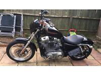 Harley Davidson sportster XL883L 2006 last carb model will swap for a landrover defender 90 110