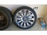 Audi a8 Genuine 19' alloy wheels