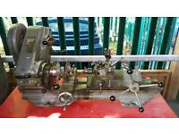 Myford Super 7 metal working lathe with capstan attachment